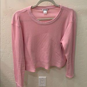 ASOS pink cropped top!!